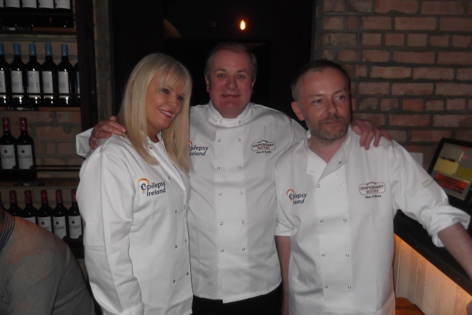 Mary, Gavin & Rick at Look Who's Cooking 2013