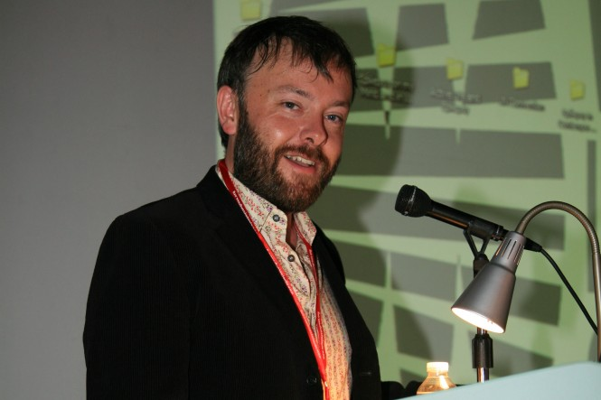 Rick speaking at European Epilepsy and Society conference Marseille 2008